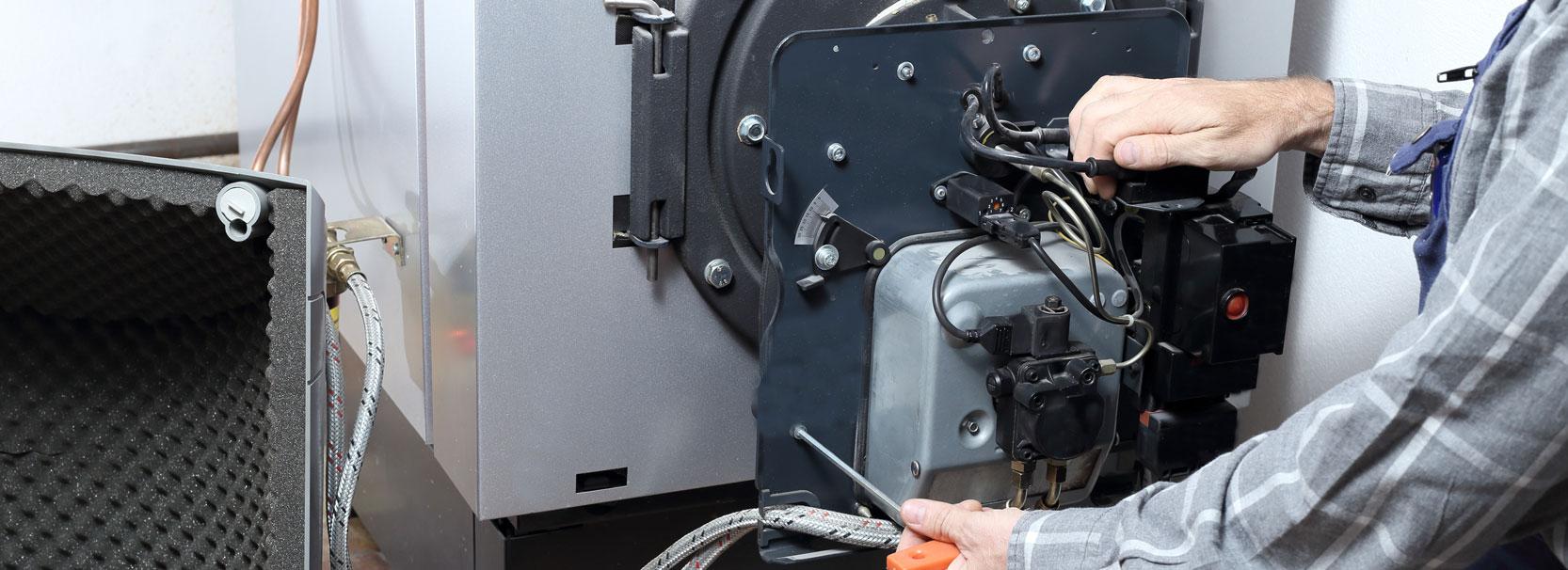 Service/Reparatur/ Wartung von Ölbrenner/Pelletbrenner